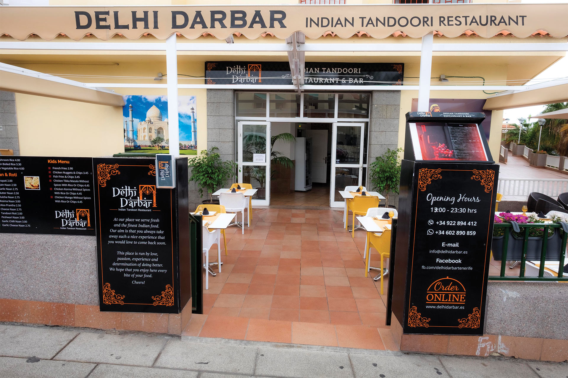 Best Indian Restaurant in Tenerife